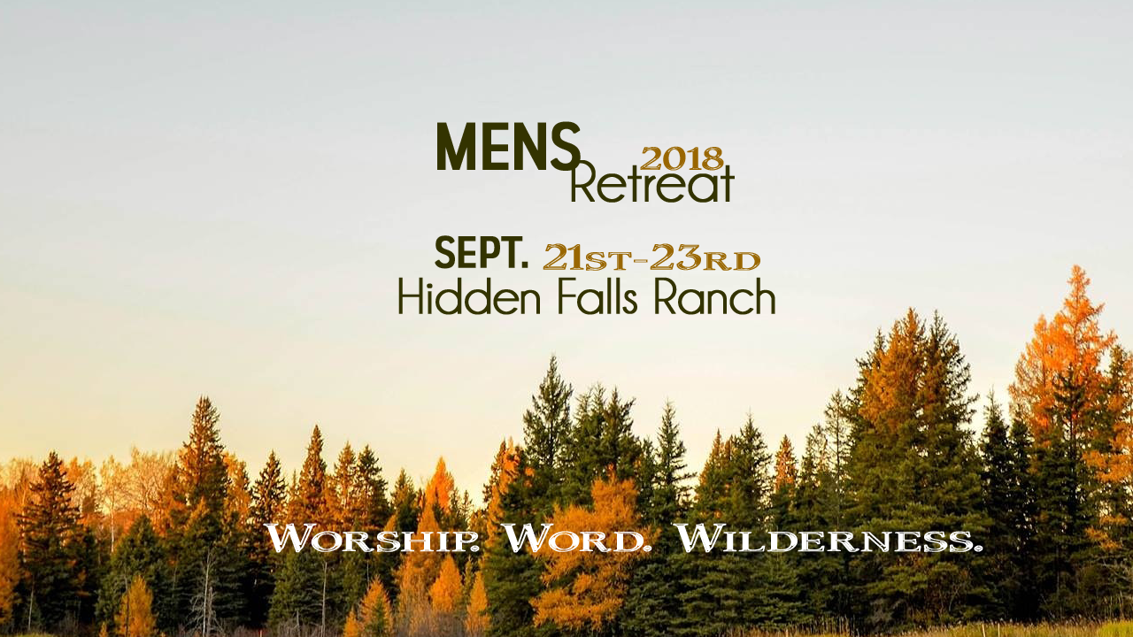 2018 MH Men's Retreat