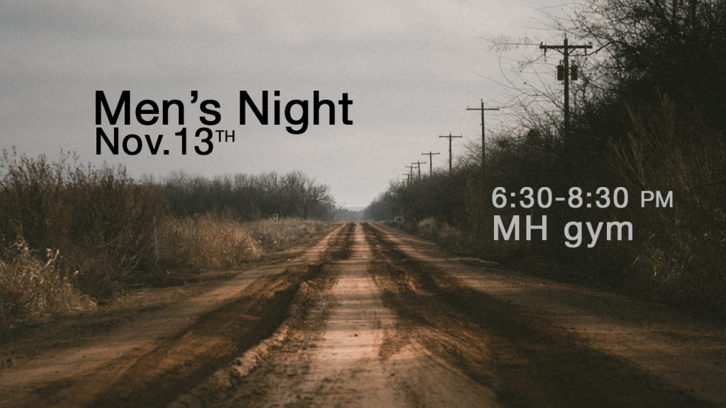 Men's Night at Messiah's House Church