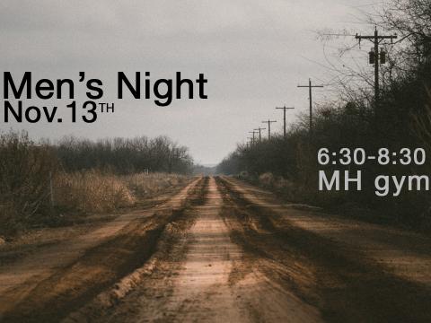 Men's Night at Messiah's House Church