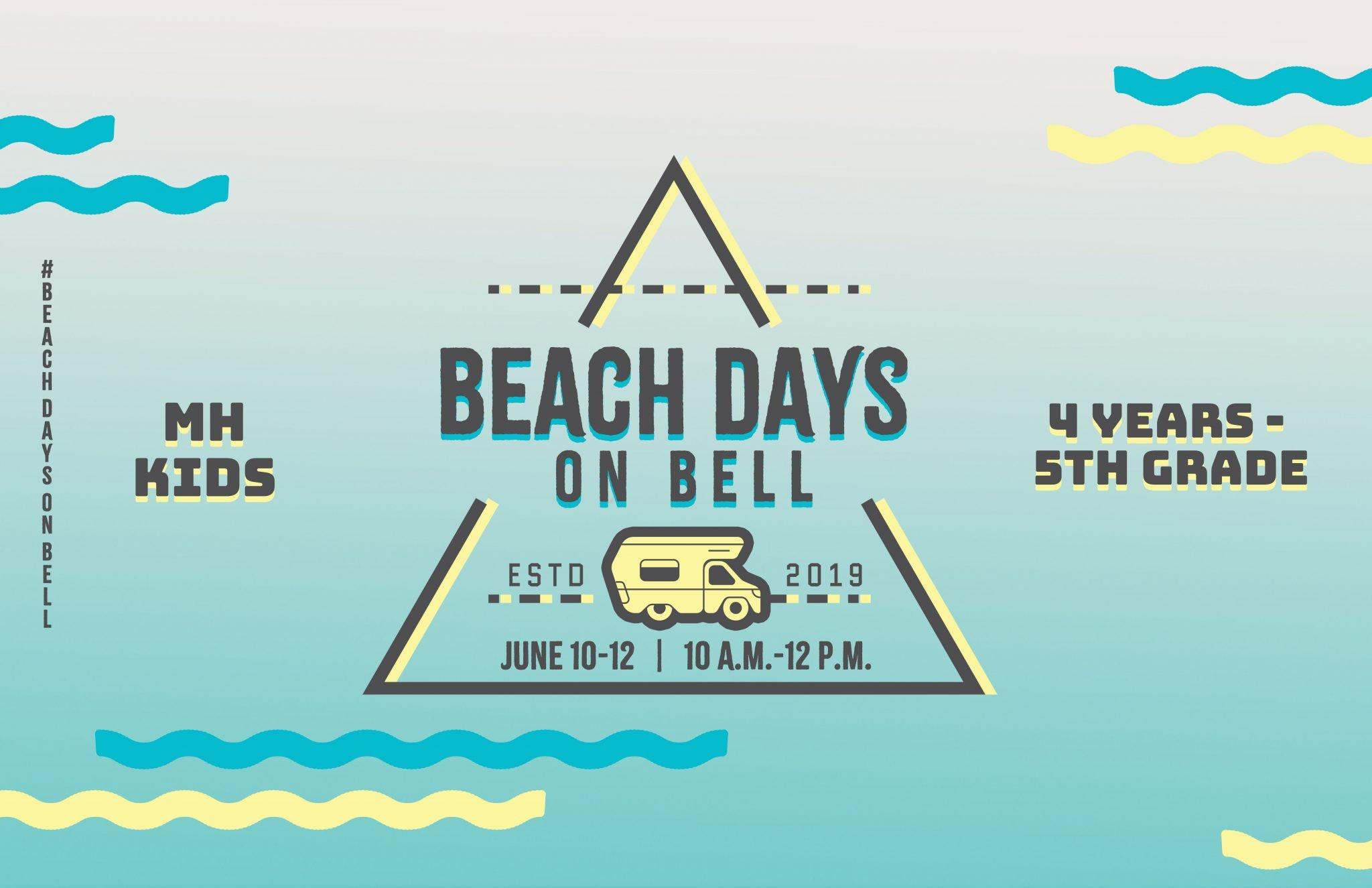 2019 Beach Days On Bell Messiah's House Church Amarillo Texas Kids Summer Church Camp