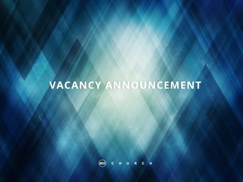 Pastor Position Available - Vacancy Announcement - Amarillo Texas - Church