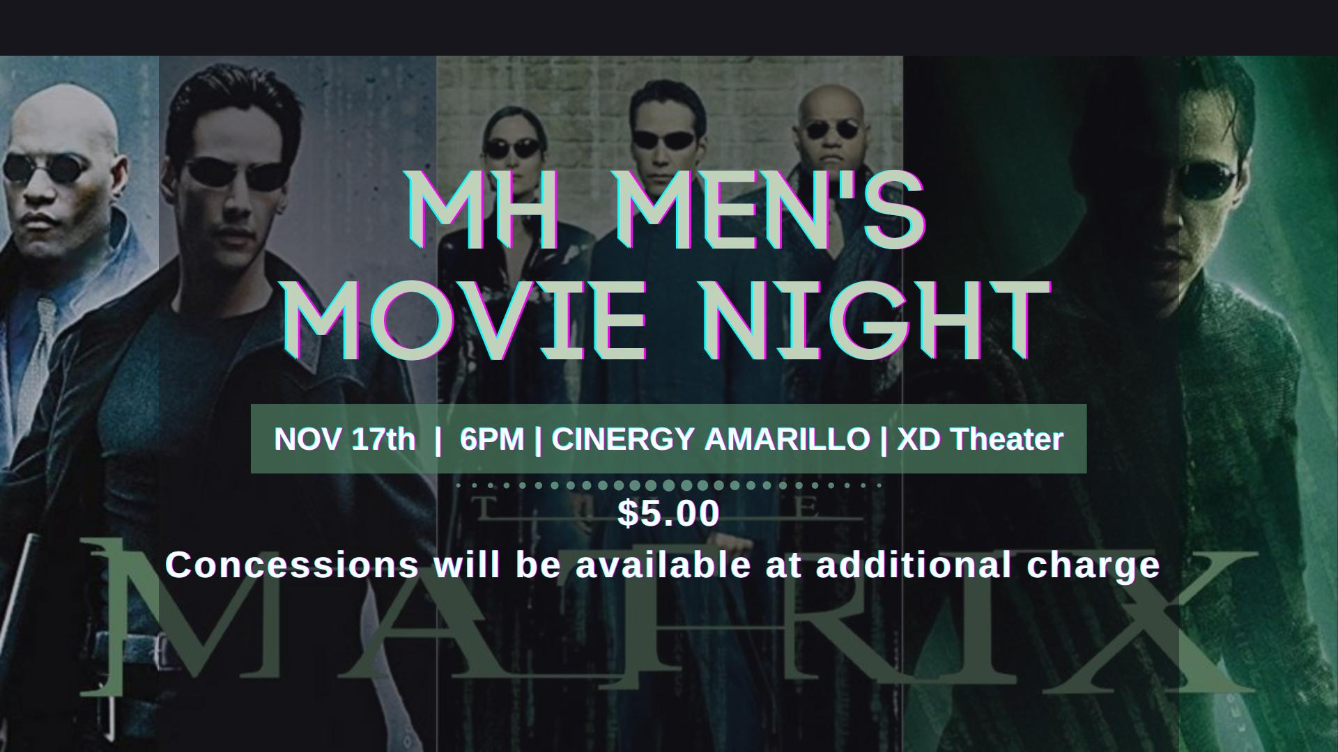 MH MEN's MOVIE NIGHT