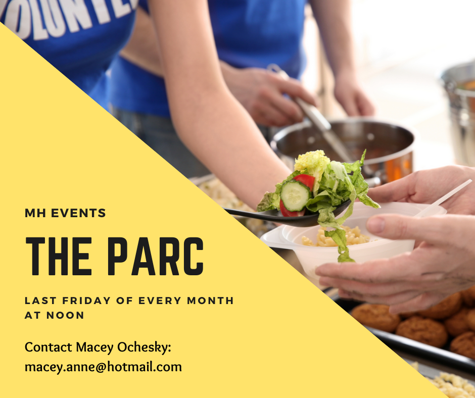 Serve at The Parc - MH - Last Friday of every month at noon