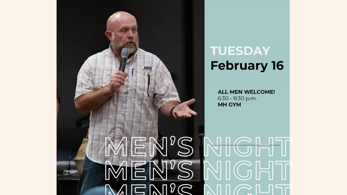 Mens Night with Jess Little at Messiah's House Church