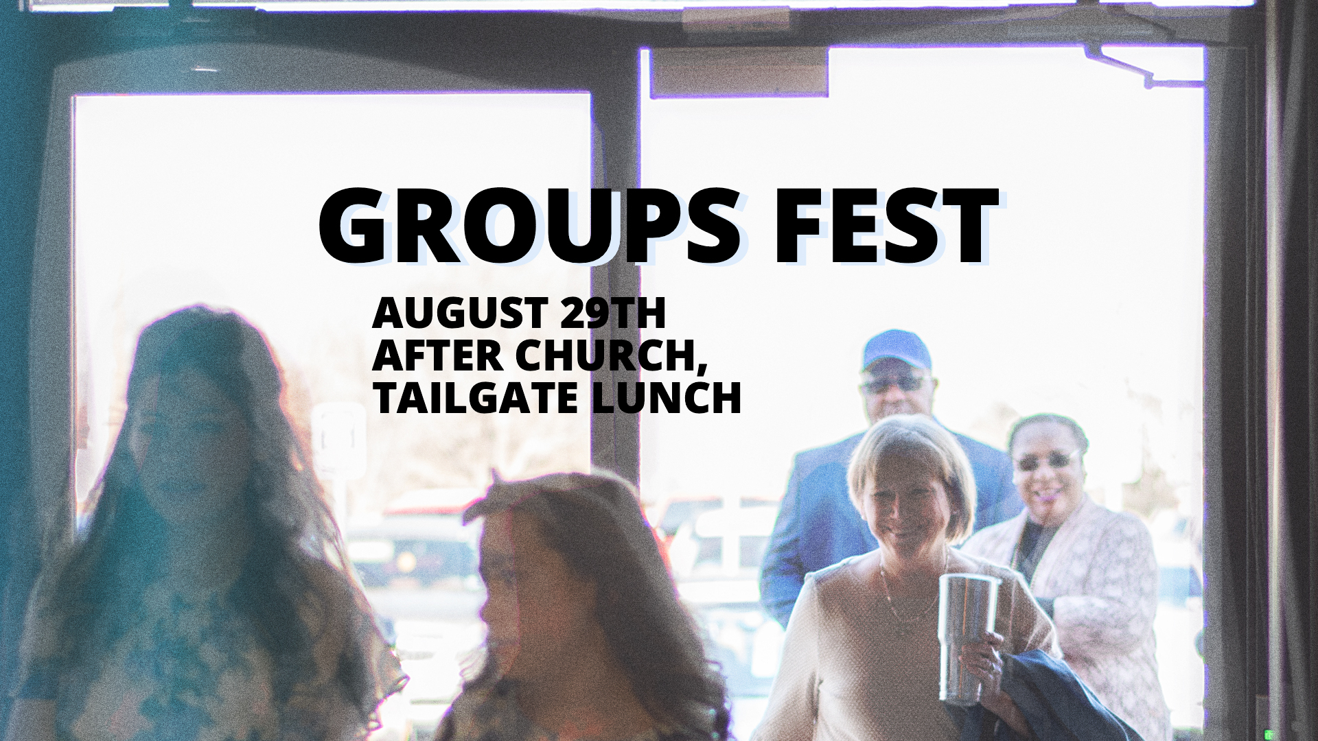 church groups fest at Messiah's House church on August 29, 2021 after church
